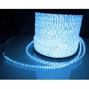 LRL*2 LED DELUX 2-полюс. голубой Провод светящ.