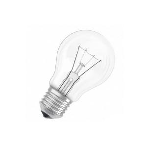 Лампа накаливания Б 60 W (Е27)  (100шт/ящ) гофра