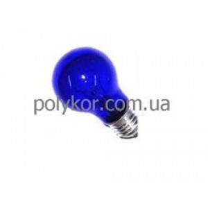 Лампа накал. лечебная синяя БС 60Вт Е27
