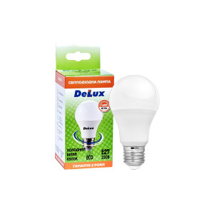 Лампа LED DELUX BL60 10W 6500К 230 V E27
