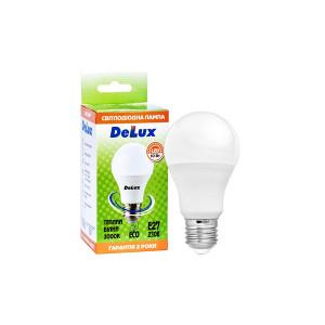 Лампа LED DELUX BL60 10W 3000К 230 V E27