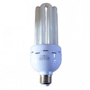 Лампа энергосберигающая. DELUX EQS-04 38W/6400K E27 прямая 4U