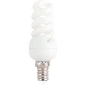 Лампа энергосберигающая. DELUX T2 Mini Full Spiral 11W 6400K Е14