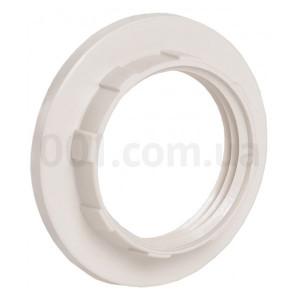 Кольцо к патрону пластик Е14 белый индив.пакет ИЭК