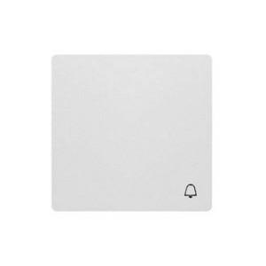 "Клавиша выкл. 1кл. с символом ""звонок"" белая ABB Swing"
