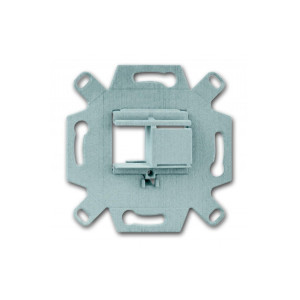 Адаптер монтажный для 1-2 унив. разъемов ABB BASIC 55
