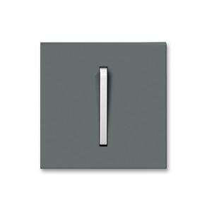 Клавиша 1кл. NEO графит/бело-ледяной ABB 3559M-A00651 61