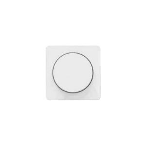 Клавиша (панель лицевая)  для светорегулятора поворотного белая Polo Optima