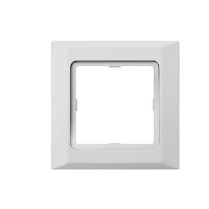 Рамка 1-кратная белая OPTIMA