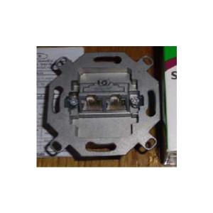 Мех.компьют. экр. розетки 5-й категории двойная (изолирована, II) Prodax Clasic