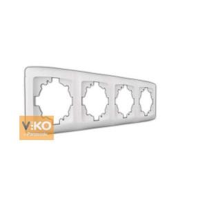 Рамка 4М вертик. 90572004 VI-KO CARMEN крем