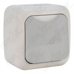 Выключатель 1-кл. наружной установки 90555501 VI-KO IP54 серый