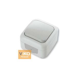 Выключатель 1-кл. наружной установки 90555401 VI-KO IP54 БЕЛЫЙ