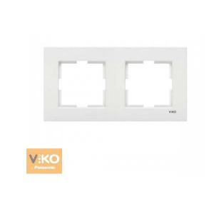 Рамка 2М вертик. 90960221 VI-KO KARRE белый