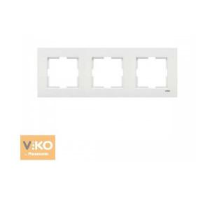 Рамка 3М вертик. 90960222  VI-KO KARRE белый