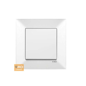 Выключатель 1-кл. 90970001-WH VI-KO Meridian белый