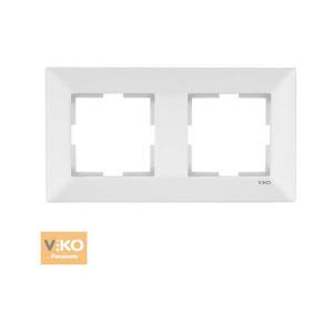 Рамка 2-я горизонтальная 90979002-WH VI-KO Meridian белая