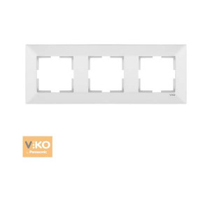 Рамка 3-я горизонтальная 90979003-WH VI-KO Meridian белая