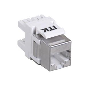 Модуль Jack FTP Cat 5e IDC Dual верт.зад. ITK ИЭК