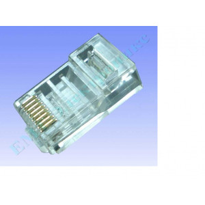 Штекер компьютерный 8р8с (RJ-45) 6-0004