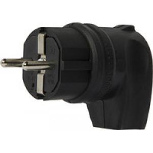 Вилка каучуковая с боковым выводом (с заземлением ), ВБп3-1-0м ОМЕГА ИЕК IP44