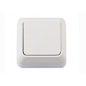 Выключатель 1-кл. проходной Luxel Opera 2011 наружной установки белый