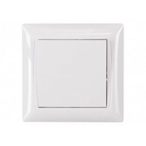 Выключатель 1-кл. Luxel Primera 3002 белый