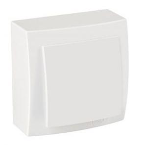 Выключатель 1кл. накладной 26111001 Nilson Themis белый (12шт/уп)