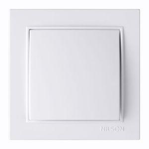 Выключатель 1кл. 27111001 Nilson Thor білий ( )