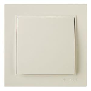 Выключатель 1кл. внутр. 27121001 Nilson Thor крем ( )