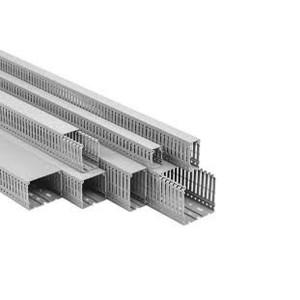 Кабель-канал перфорований PDK8080 80x80мм 2 м, PLASTIM