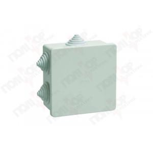 Коробка КМ41235 распаячная для о/п 85х85х40мм IP 44 ИЭК