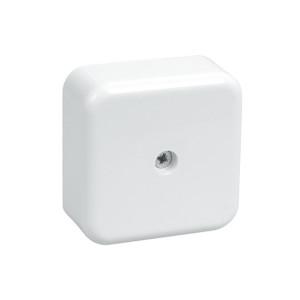 Коробка КМ41206-01 распаячная для о/п 50х50х20мм белая (с конт.гр) ИЕК