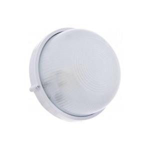 Светильник MAGNUM MIF 010  IP44 60W круг белый без решетки