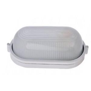 """Светильник MAGNUM MIF 020  IP44, 60W, """"овал"""" белый, без решетки"""