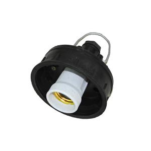 Светильник НСП 03*60-пластик (шар прозрачный), IP20