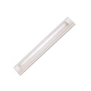 Светильник люминисцентныйЛюмен 1*18 Вт, с решеткой, без лампы  ZCFEMCWА/20W/12  ЭПРА