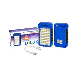 Світильник аварійний DELUX REL-101 LED 4Вт, 2,4Ah, 36LED