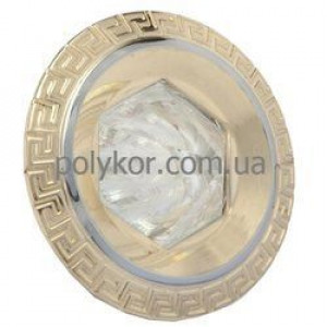 Світильник точков. DELUX HDL 16146 MR16 12V хром-золото