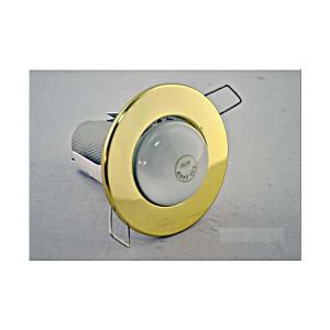 Светильник точечний R80 золото