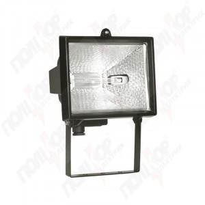 Прожектор галоген ИЭК ИО 150 черный IP 54