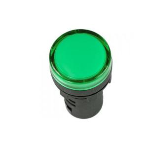 Армат. сигн. светодиодная АD22С-8/AC220V, зеленая АсКо