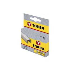 Скобы 12мм 1000шт тип D 41Е412 TOPEX