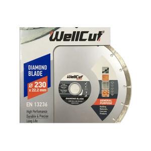 Диск пильный 230мм*22,2мм 60Т WELLCUT Standard