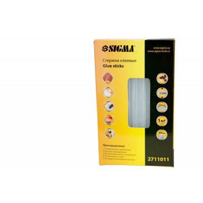 Стрижні клейові Sigma D.11,2*200мм 50 шт. 1 кг. (прозорі) 2711011