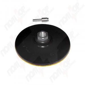 Диск шліфувальний гумовий 115мм з липучкою (дріль) SIGMA 9181121