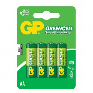 Батарейка GP 15G-2UE4 солевая R 6 AA (4 шт/блс)