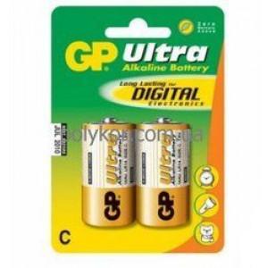 Батарейка GP 14АU-U2 щелочь LR14, C