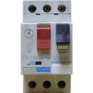 Выключатель автоматический ВА-2005 М07 1.6-2.5 А
