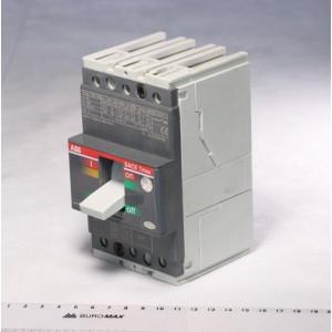 Выключатель автоматический Т1В160 TMD 20-630 3P F FC 20А Cu 3Р